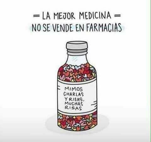 La mejor medicina no se vende en farmacias.