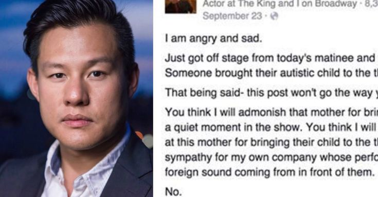 Actor Pens Viral Letter To The Child Who Interrupted Broadway Show via LittleThings.com