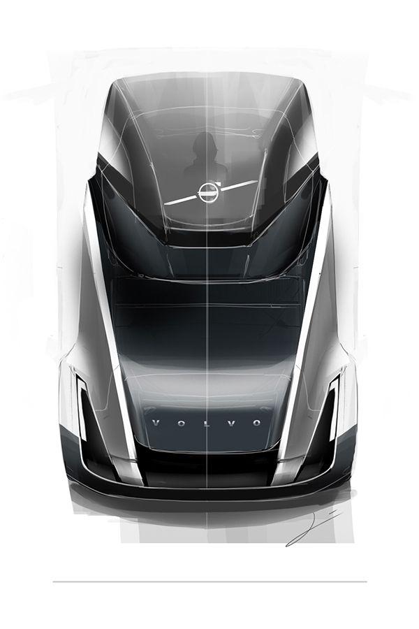 Concept Volvo truck