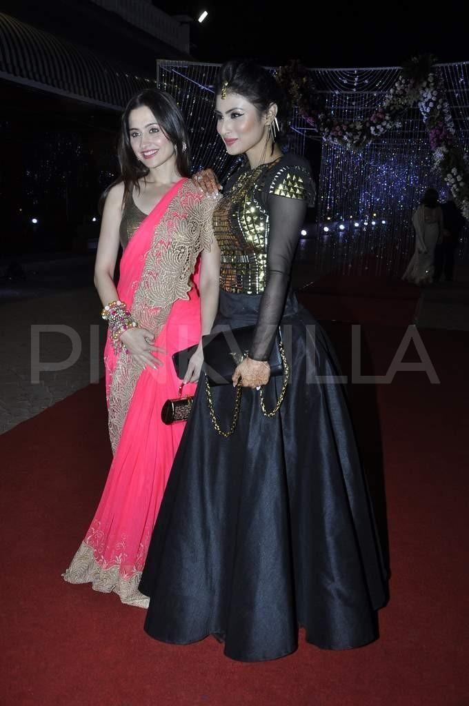 Abhay Deol, Randeep Hooda at Aamna Shariff's reception   PINKVILLA