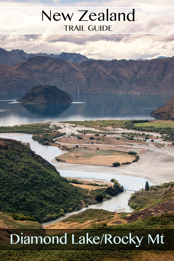 Fully photographed guide to the Diamond Lake & Rocky Mountain Track near Wanaka South Island New Zealand. Beautiful views of Lake Wanaka, Glendhu, and the surrounding mountain ranges. #travel #hiking #photography #nz #newzealand #guide #wanaka #diamondlake