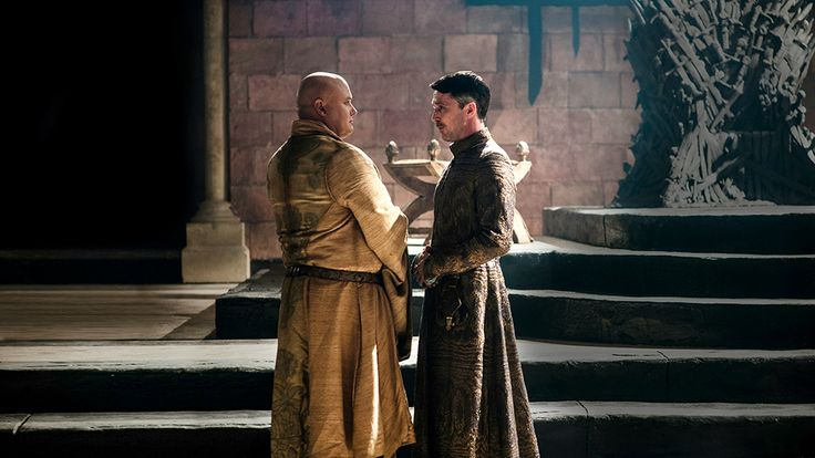 "The Climb - Game of Thrones - Season Three: Episode 6 - Varys and Petyr Baelish (""Littlefinger"")"