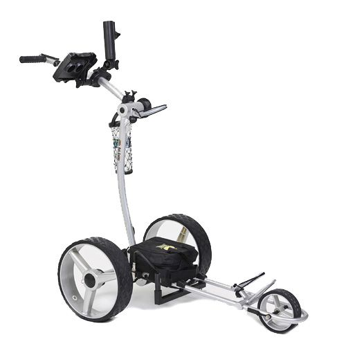 Bat Caddy X4 Classic Electric Golf Push Cart w/Free Accessory Kit at InTheHoleGolf.com