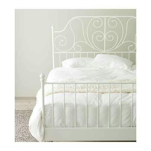 IKEA Bed frame LEIRVIK White