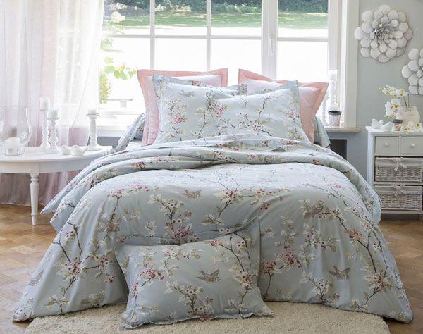 Linge De Lit Fleurs Du Japon Becquet Home Bed Blanket