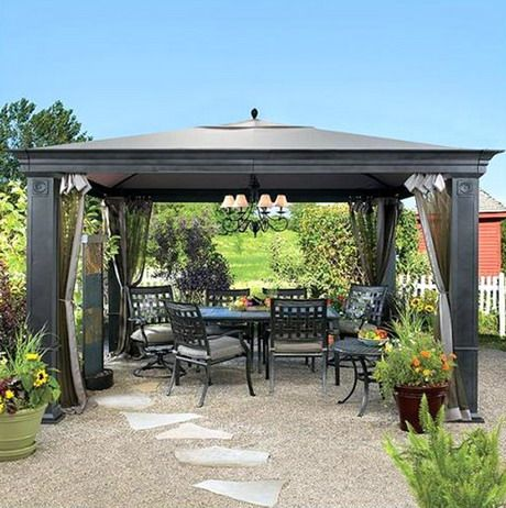 30 best gazebo ideas for our back yard images on pinterest ... - Cheap Patio Roof Ideas