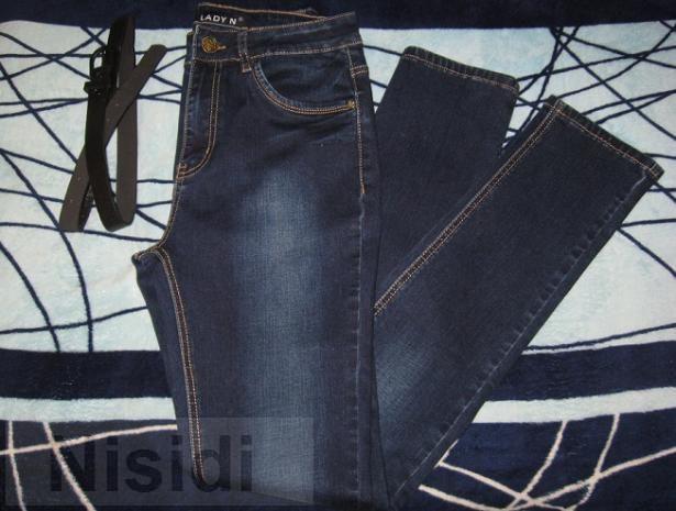 Длинные джинсы с высокой посадкой LADY N Днепропетровск - Изображение 3