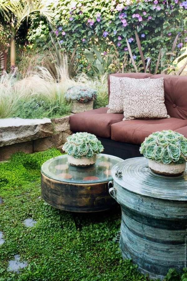 Die besten 25+ Hinterhof Sitz Ideen auf Pinterest   Outdoor ...