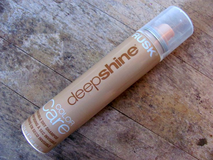 Rusk Deepshine Color Care Invisible Dry Shampoo - Review