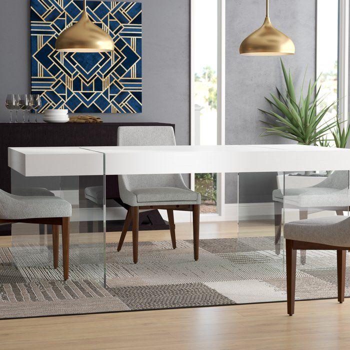 Domenica Modern Dining Table Modern Dining Table Dining Room