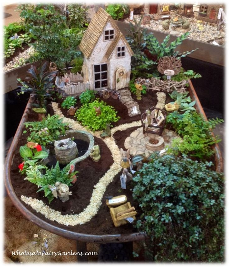 17 Best Images About Miniature Gardens On Pinterest Gardens Dollhouse Miniatures And