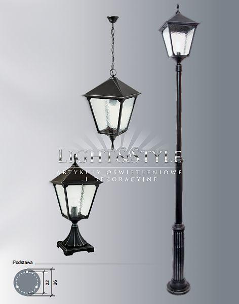 Su-ma RETRO KW lampa zewnętrzna wisząca - Sklep Light & Style