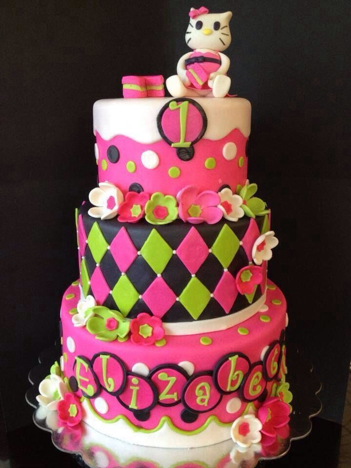 Best Birthday Cakes Images On Pinterest Biscuits Beautiful - Gorgeous birthday cakes