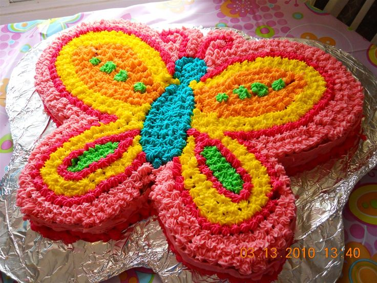 butterfly cake--This is our Winner....Maddie wants this one for her Bday