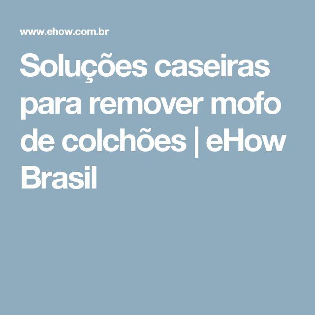 Soluções caseiras para remover mofo de colchões | eHow Brasil