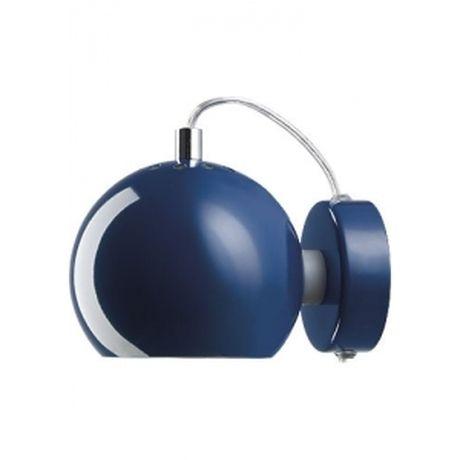 Kinkiet BALL - granatowy