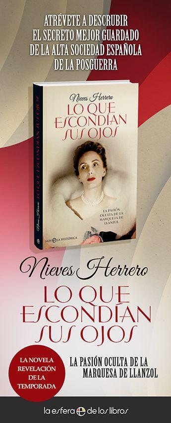Columna del libro Lo que escondían sus ojos de Nieves Herrero para catálogo de FNAC por encargo de La Esfera de los Libros