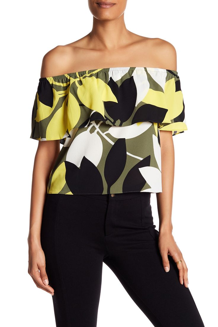 Floral Off-the-Shoulder Blouse by Bailey 44 on @HauteLook