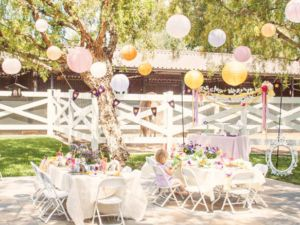 Rapunzel Themed Birthday Party Decoration Ideas