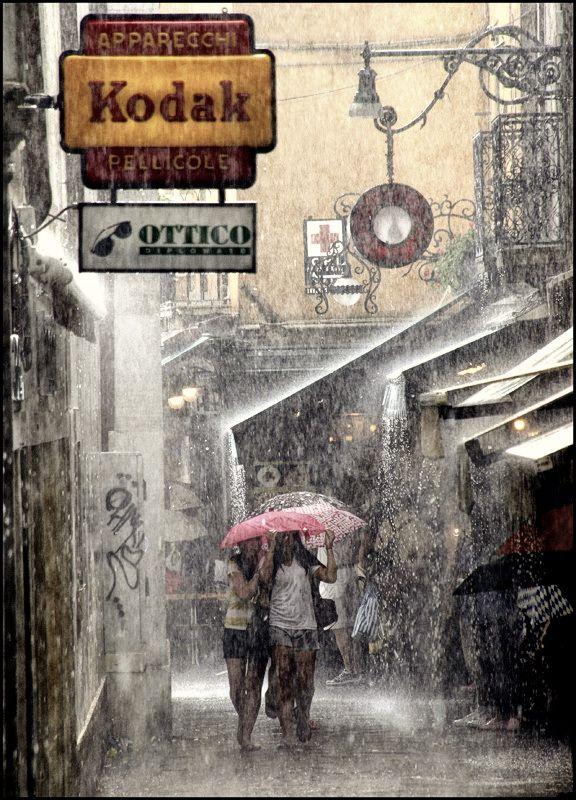 Heavy Rain . . . Roby Bon