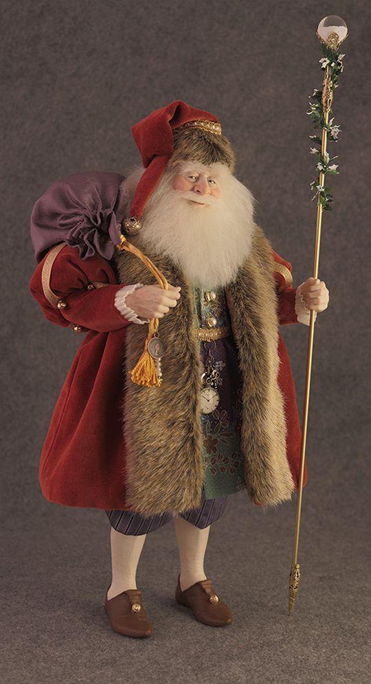 Santa Dolls, Christmas Dolls - The Dollsmith Store