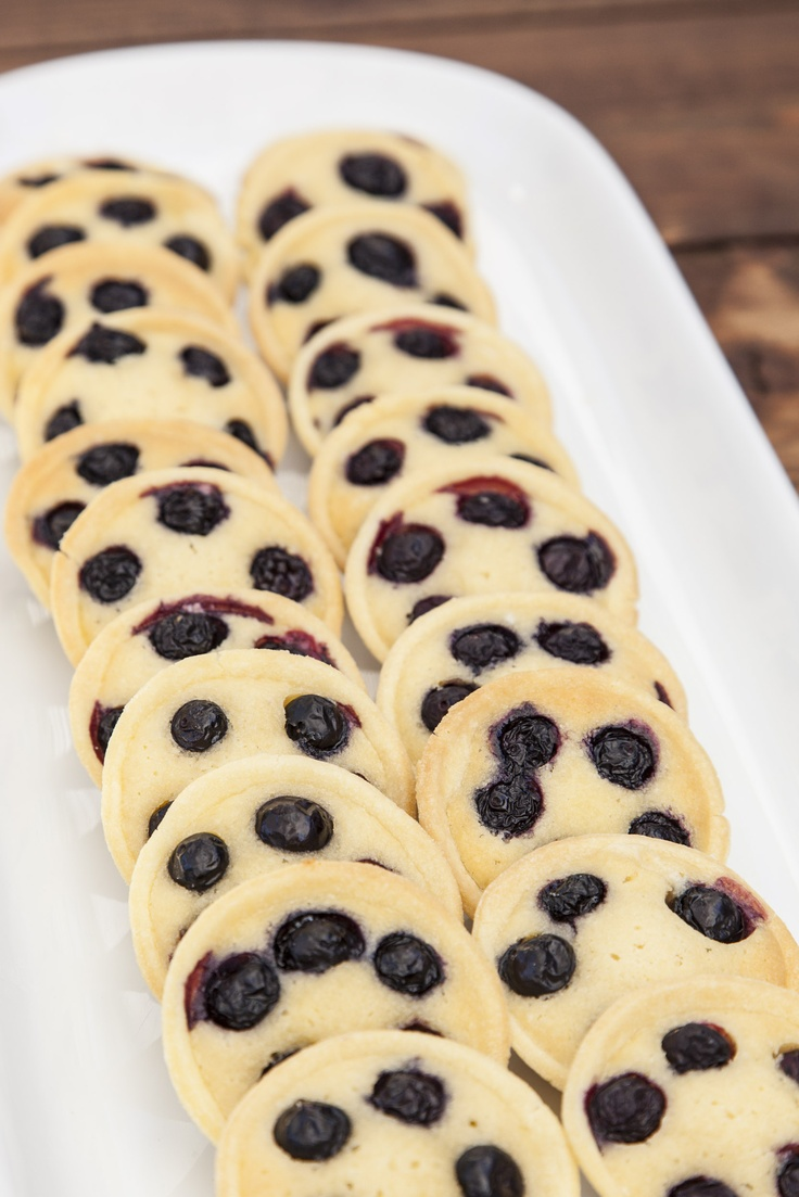 Frangipane and blueberry tarts
