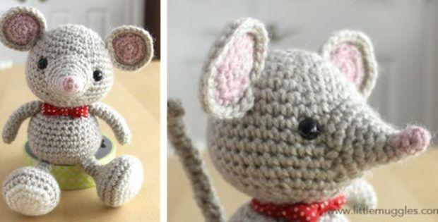 237 besten Crochet Mouse Mice Bilder auf Pinterest | Büchereien ...
