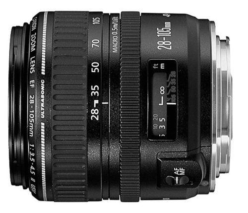 Canon EF 28-105mm f/3.5-4.5 II USM Standard Zoom Lens for Canon SLR Cameras Canon http://www.amazon.com/dp/B00004YZQ8/ref=cm_sw_r_pi_dp_rzvStb0VBQ1W72K1