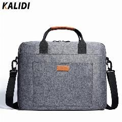 [ 22% OFF ] Kalidi 13.3 - 17.3 Inch Notebook Briefcase Business Messenger Bag Laptop Shoulder Bag For Dell Alienware / Macbook / Lenovo / Hp