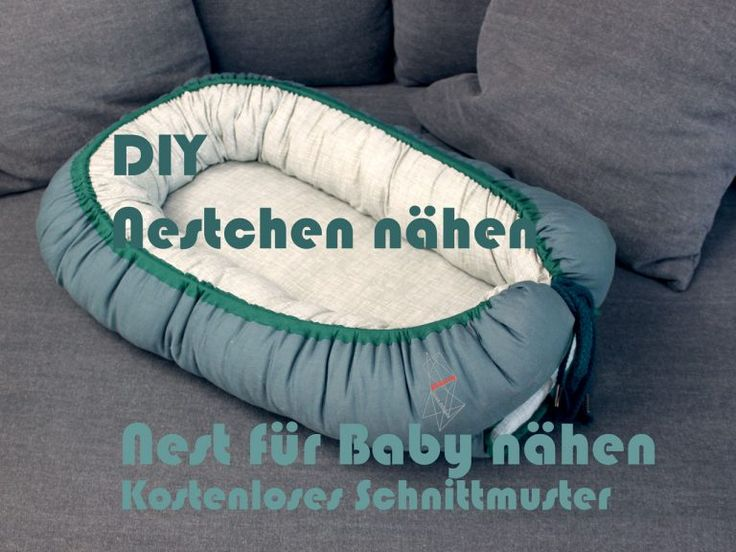 DIY baby nest / nest / nest for baby sewing € …