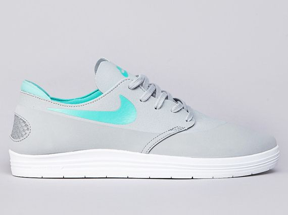 Nike SB Lunar One Shot – Base Grey – Crystal Mint