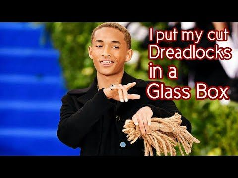 Jaden Smith's Dreadlocks Are in a Glass Box at His Parents' Will & Jada Smith's House