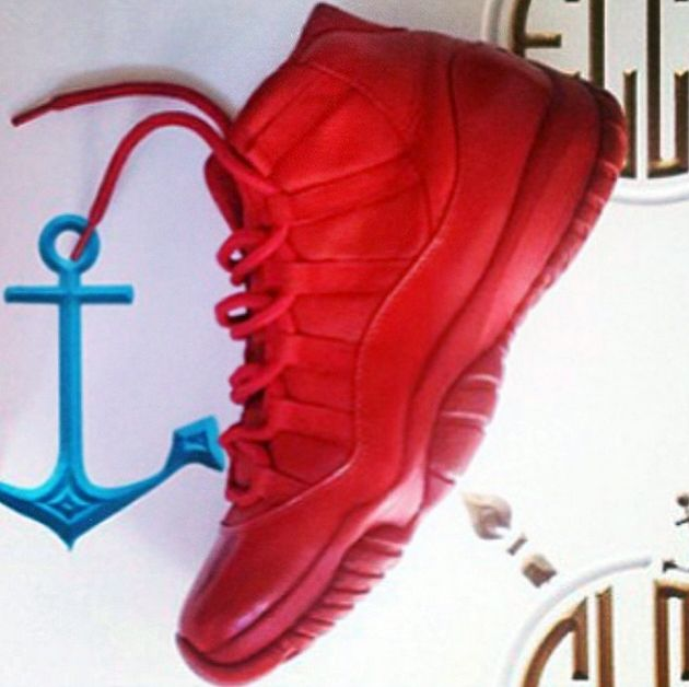 pinterest : cheetahpanties ✨ Air Jordan 11 Red October ( iwant !!! )
