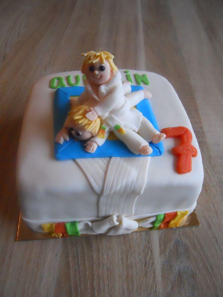 Judo Birthdaycake