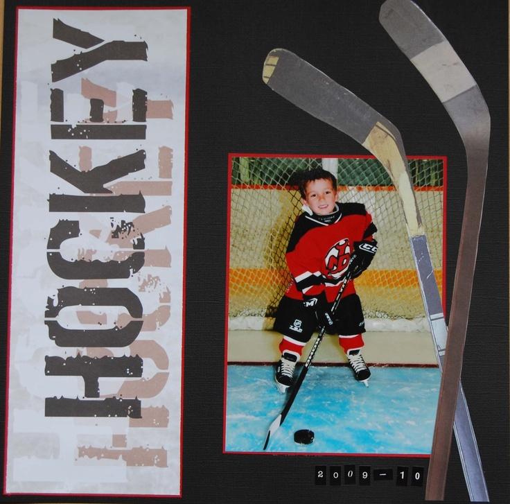 Hockey 2009-2010 - Scrapbook.com