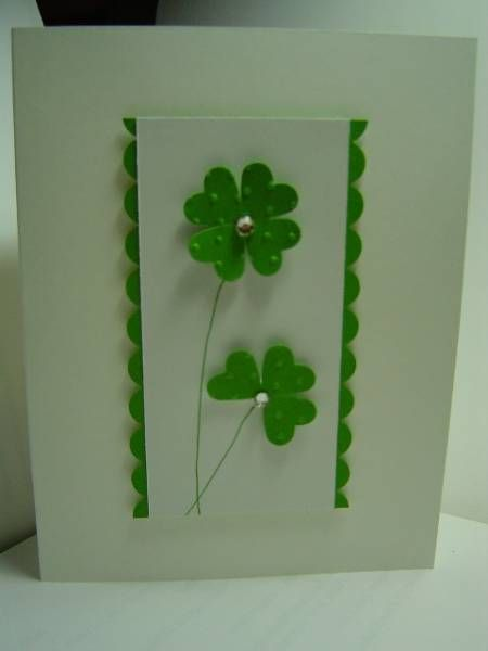 CAS St. Patrick's Day 2013 by crazysuziestamper - Cards and Paper Crafts at Splitcoaststampers