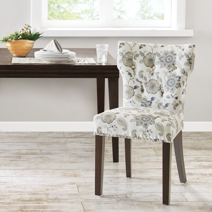 Madison Park Emilia Tufted Back Dining Chair, Gold ...