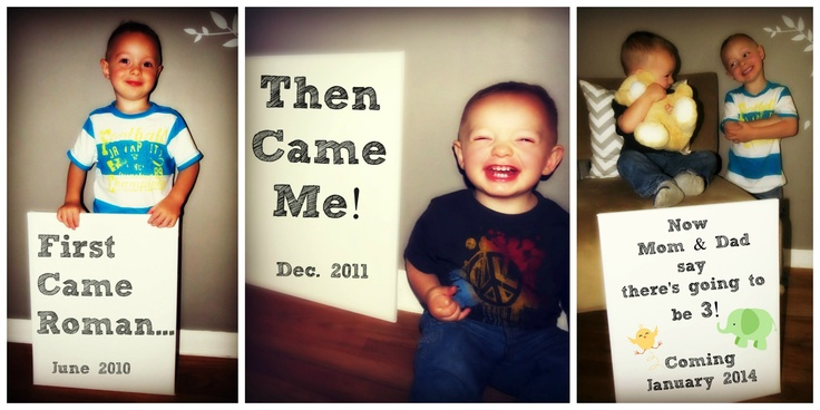 3rd baby announcement