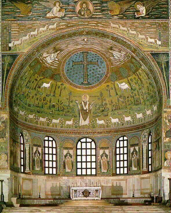 San Apolinare (apsis) - Ravenna Italy