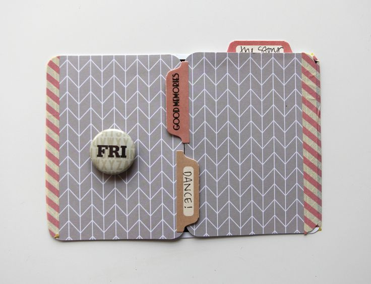 Katie's Project Life 2013 - such a cool way to add hidden journaling!