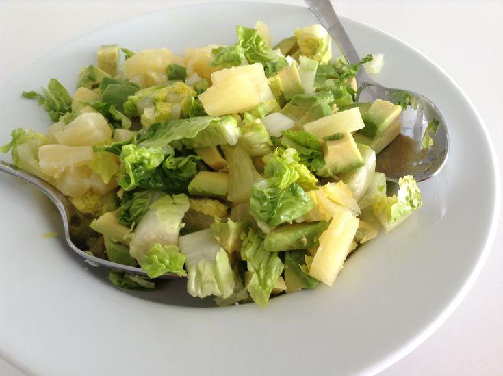 Jugosa ensalada para adelgazar, primera de las cinco que te recomendamos en: http://perder-peso.mis-recetas.org/2014/06/5-ensaladas-para-adelgazar-3-kg-en-un...
