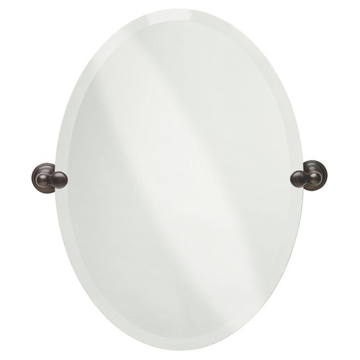 Best 25 oval bathroom mirror ideas on pinterest half - Wall mounted tilting bathroom mirrors ...