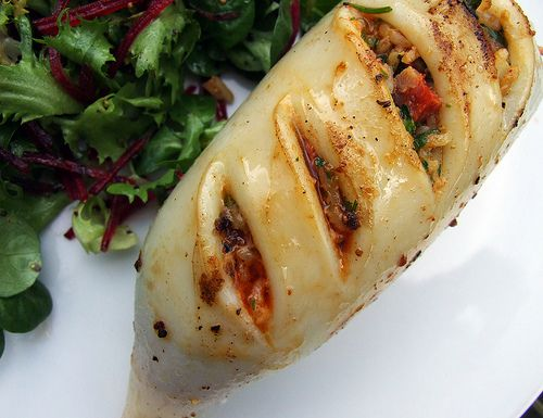 Chorizo Stuffed Squid by Food Stories, via Flickr