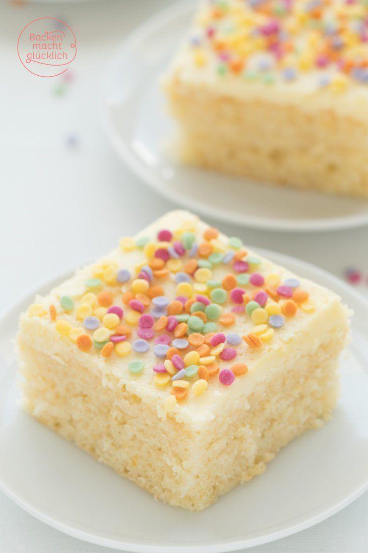 Konfetti-Kuchen vom Blech