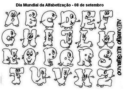 atividades de alfabetização para colorir com letras