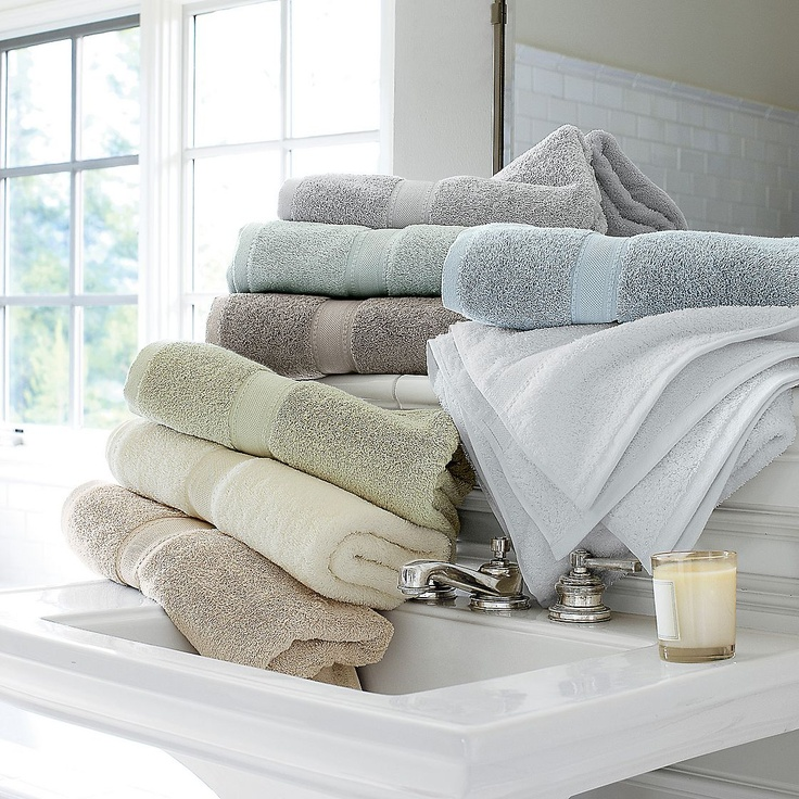 Best Towel Images On Pinterest Bath Towels Bathroom Towels - Supima towels for small bathroom ideas