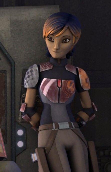 Sabine looking very cute. | Rebels | Pinterest | Wren, Art