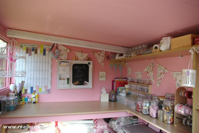 Sewing Sheds Interiors