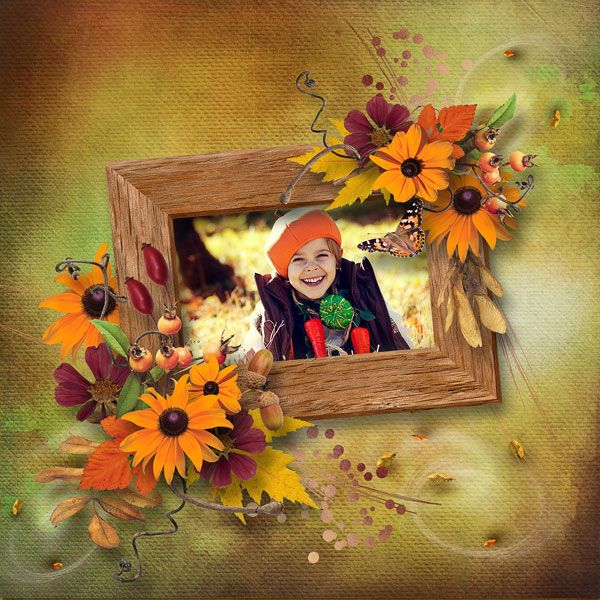 """NEW*NEW*NEW """"Harvest Sunset"""" Collection by Designs by Brigit https://www.digitalscrapbookingstudio.com/designs-by-brigit/ each pack only $1.00 until October 28th, photo Ekaterina Efremova use with permission"""