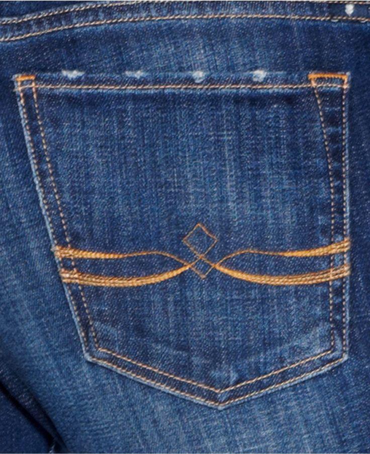 Lucky Brand Sweet 'N Straight Straight-Leg Jeans, Tanzanite Wash - Jeans - Women - Macy's